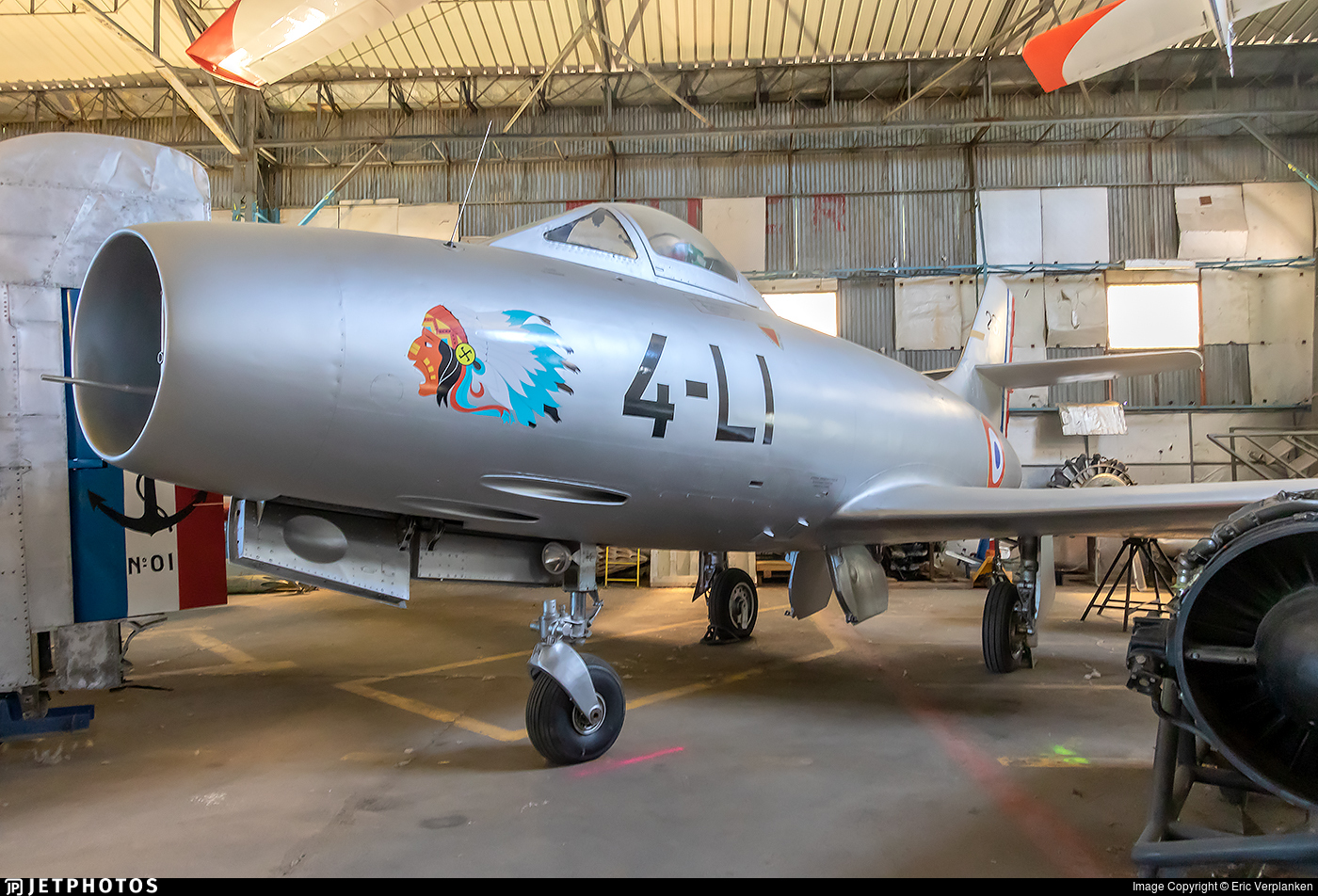 297 - Dassault MD.450 Ouragan - France - Air Force