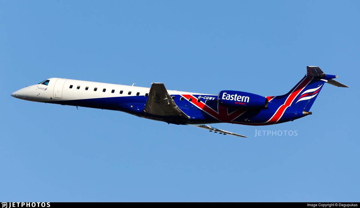 G-CGWV - Embraer ERJ-145MP - Eastern Airways