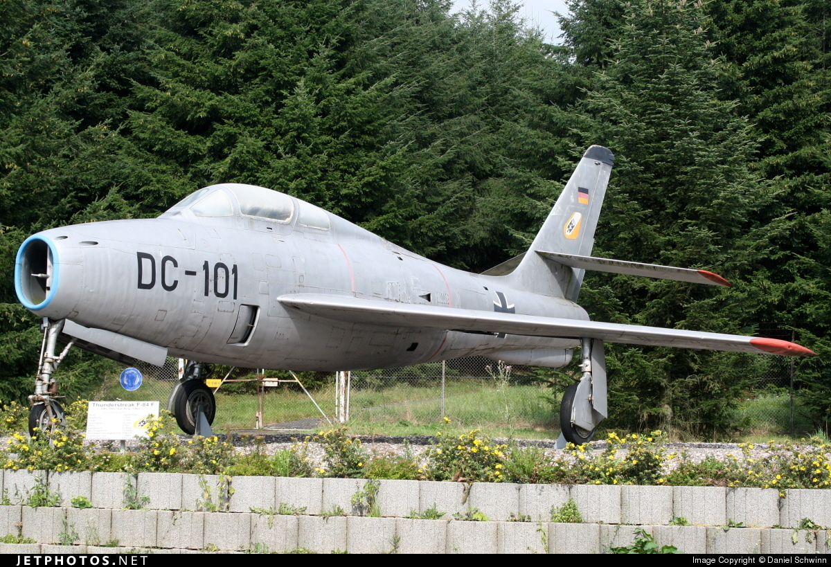 DC-101 - Republic F-84F Thunderstreak - Germany - Air Force