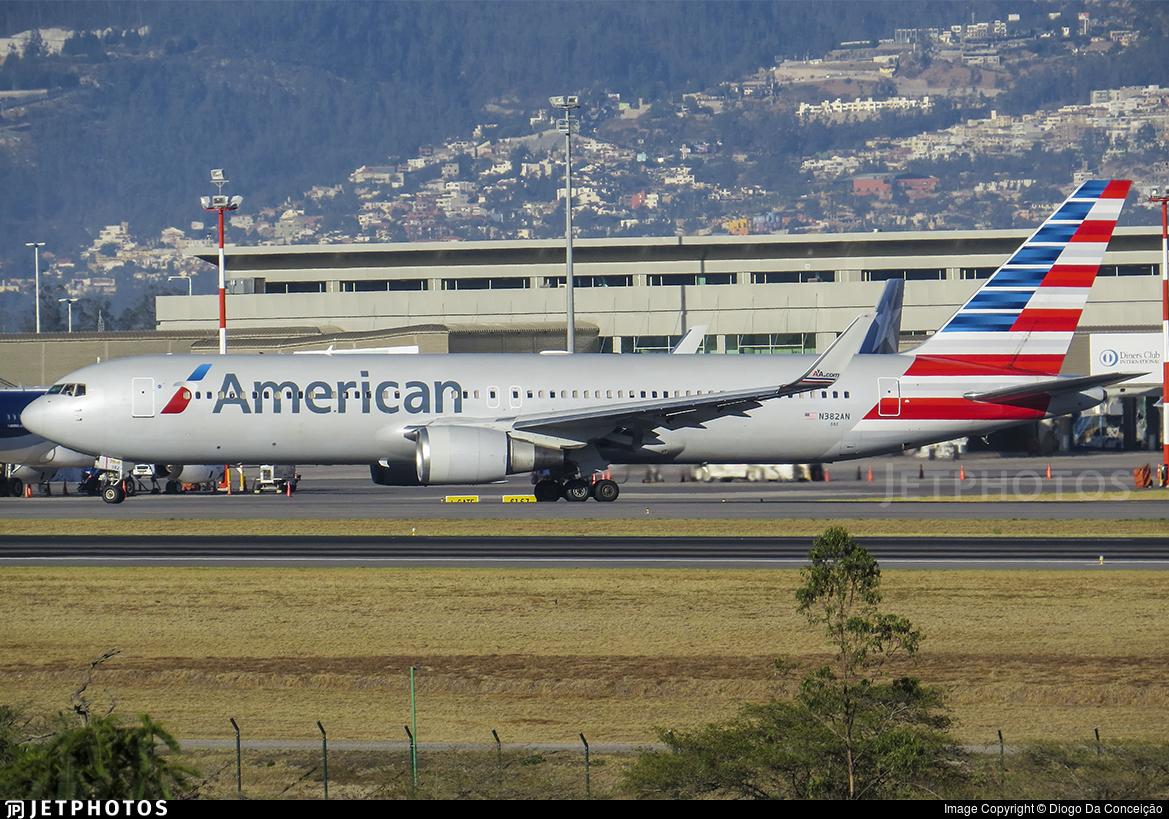 N382AN - Boeing 767-323(ER) - American Airlines