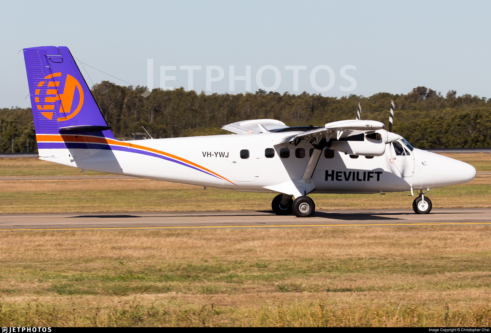 VH-YWJ - De Havilland Canada DHC-6-300 Twin Otter - Hevilift Australia