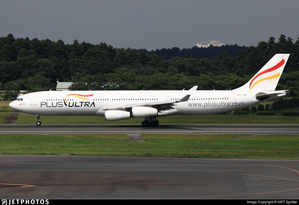 EC-MQM - Airbus A340-313X - Plus Ultra Líneas Aéreas
