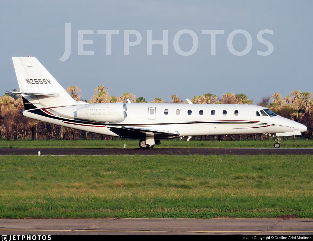N265SV - Cessna 680 Citation Sovereign - Private