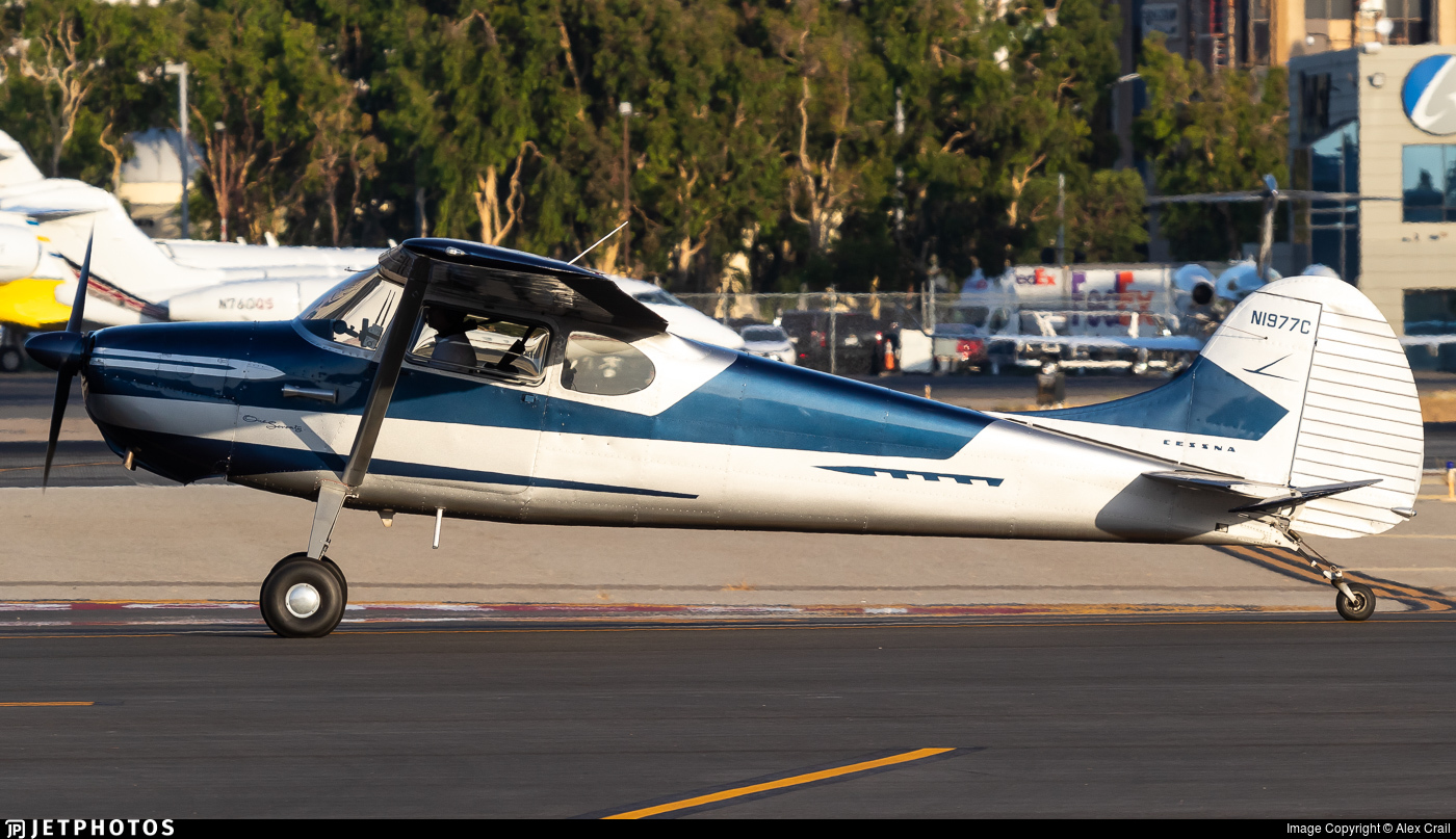 N1977C - Cessna 170B - Private