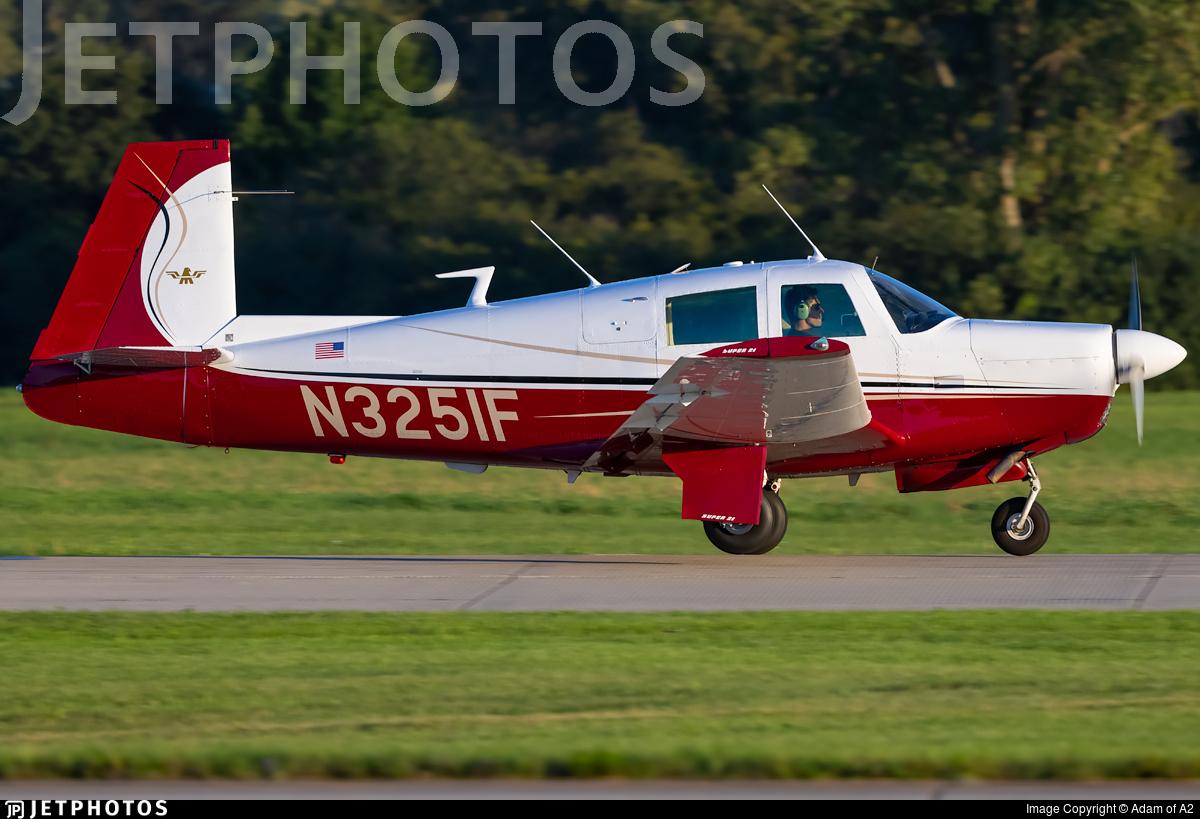 N3251F - Mooney M20E Super 21 - Private