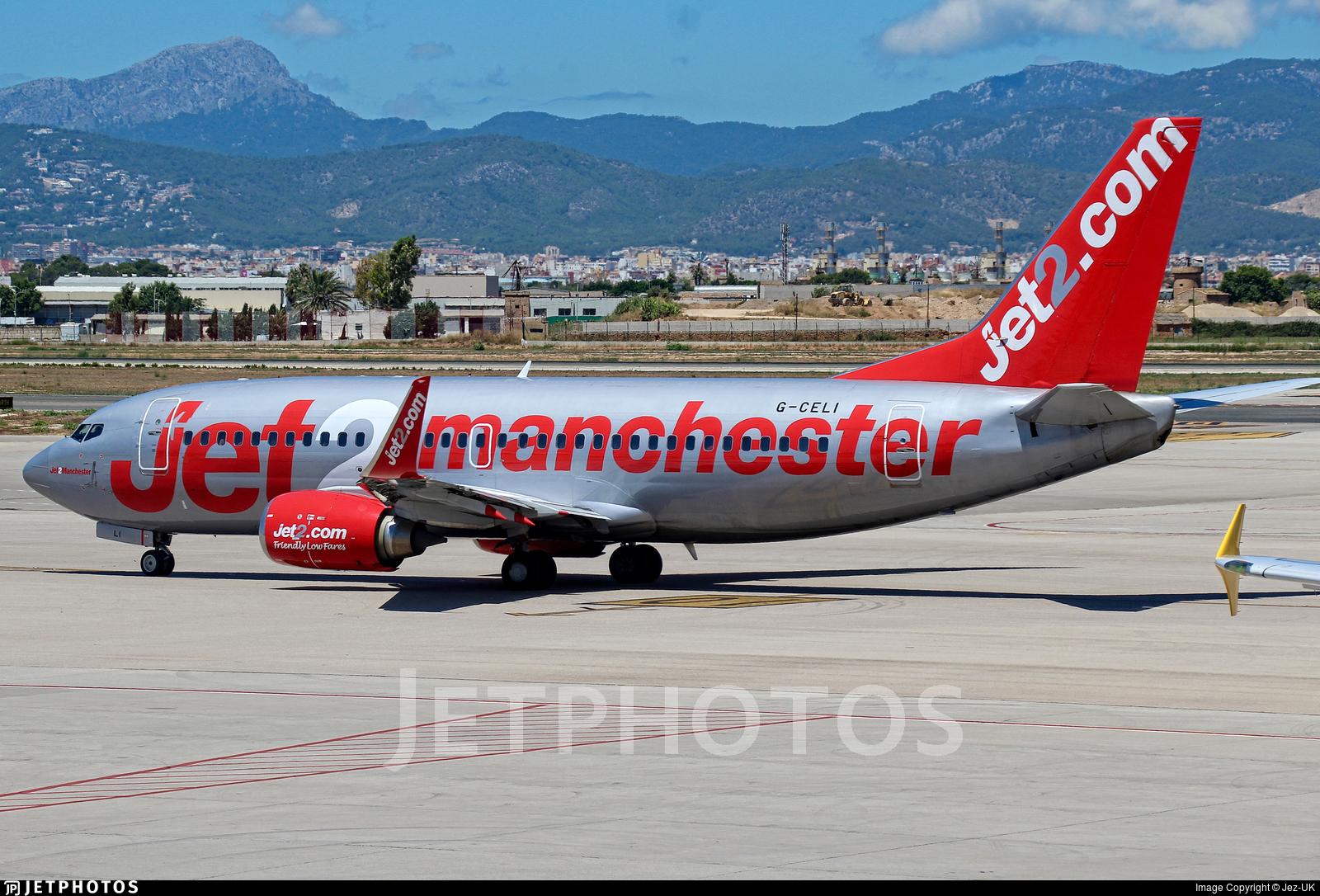 G-CELI - Boeing 737-330 - Jet2.com