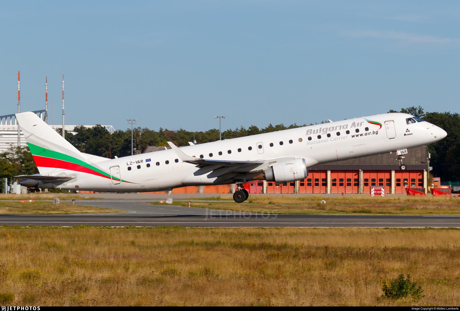 LZ-VAR - Embraer 190-100IGW - Bulgaria Air