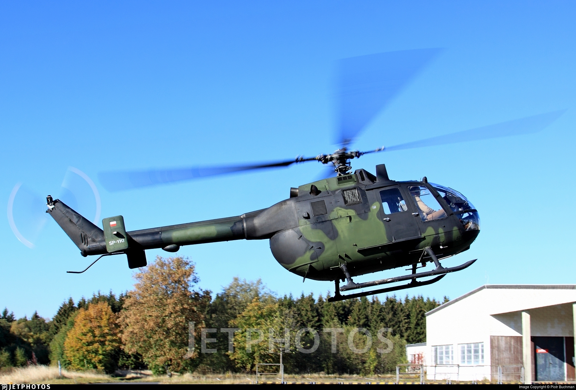 SP-YKI - MBB Bo105P1 - Private