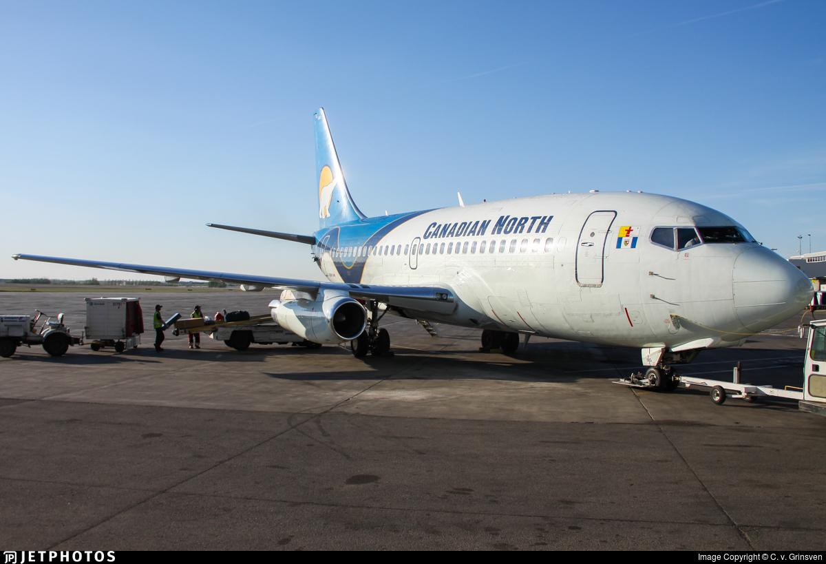 C-GSPW - Boeing 737-275C(Adv) - Canadian North