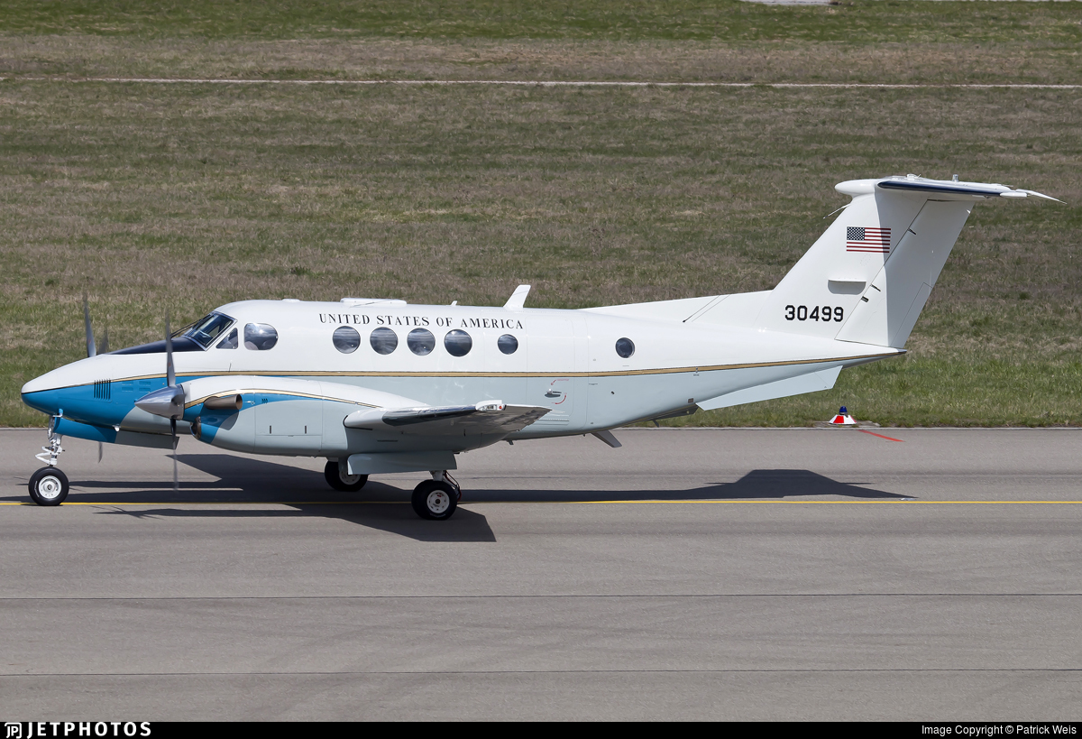 83-0499 - Beechcraft C-12D Huron - United States - US Air Force (USAF)