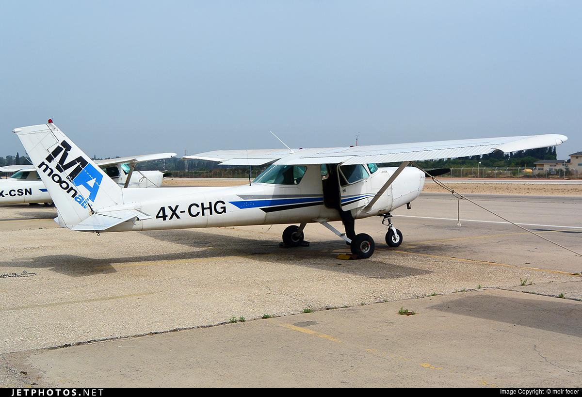 4X-CHG - Cessna 152 II - MoonAir