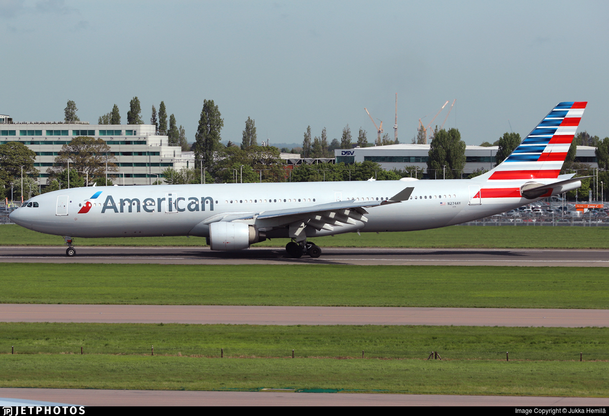 N274AY - Airbus A330-323 - American Airlines