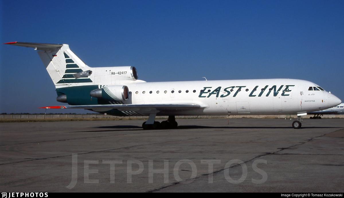 RA-42417 - Yakovlev Yak-42 - East Line Airlines