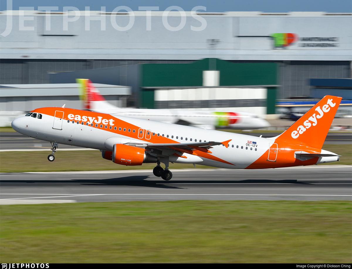 OE-IZV - Airbus A320-214 - easyJet Europe