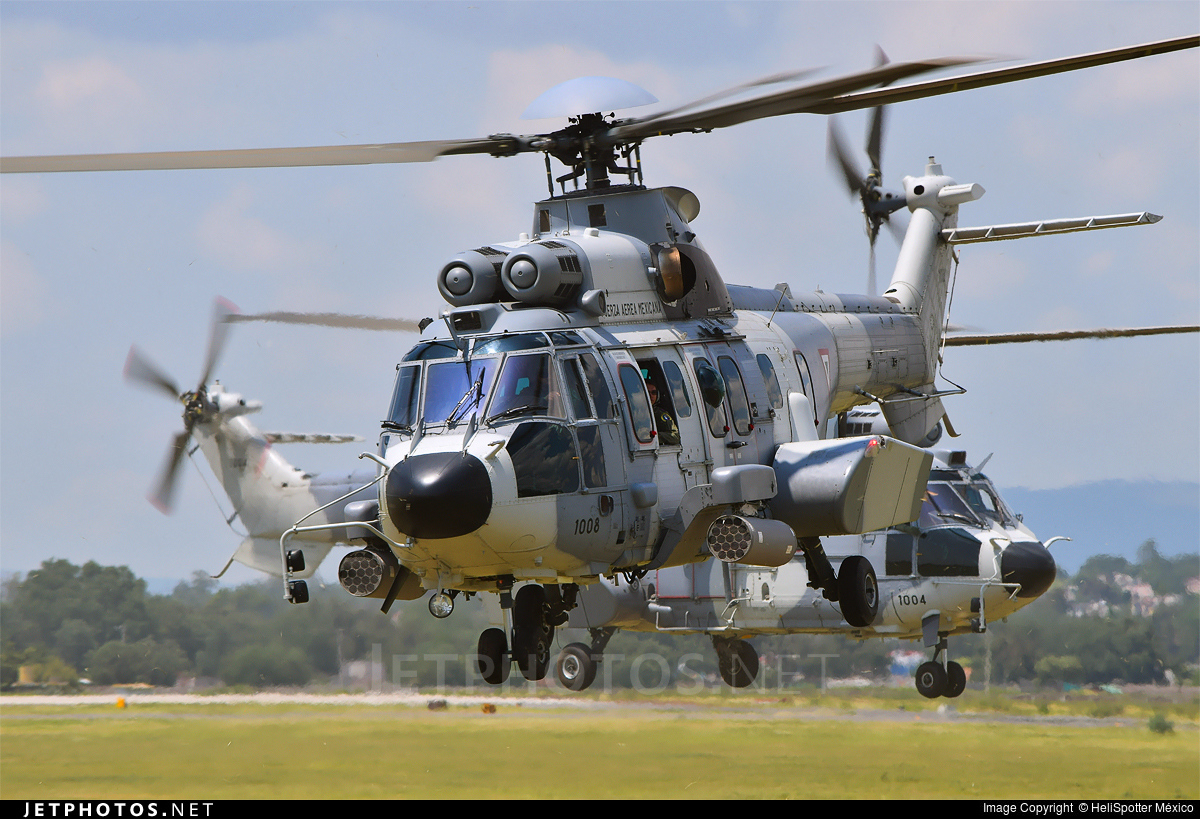 Airbus Helicopters H225M - Mexico - Air Force | Jetphotos