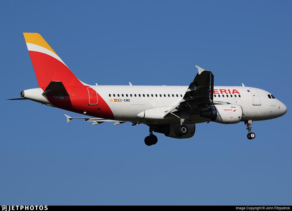 EC-KMD - Airbus A319-111 - Iberia