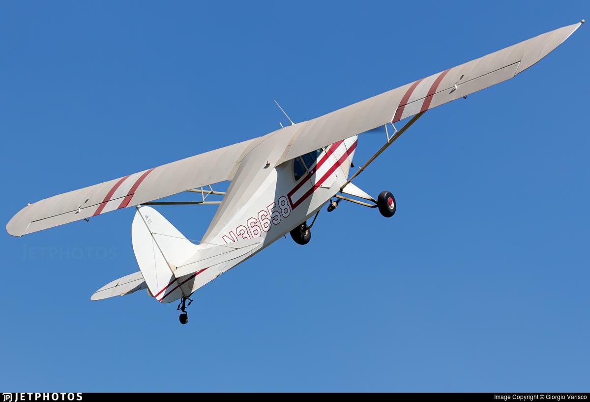 N36658 - Aeronca 65-CA Super Chief - Private