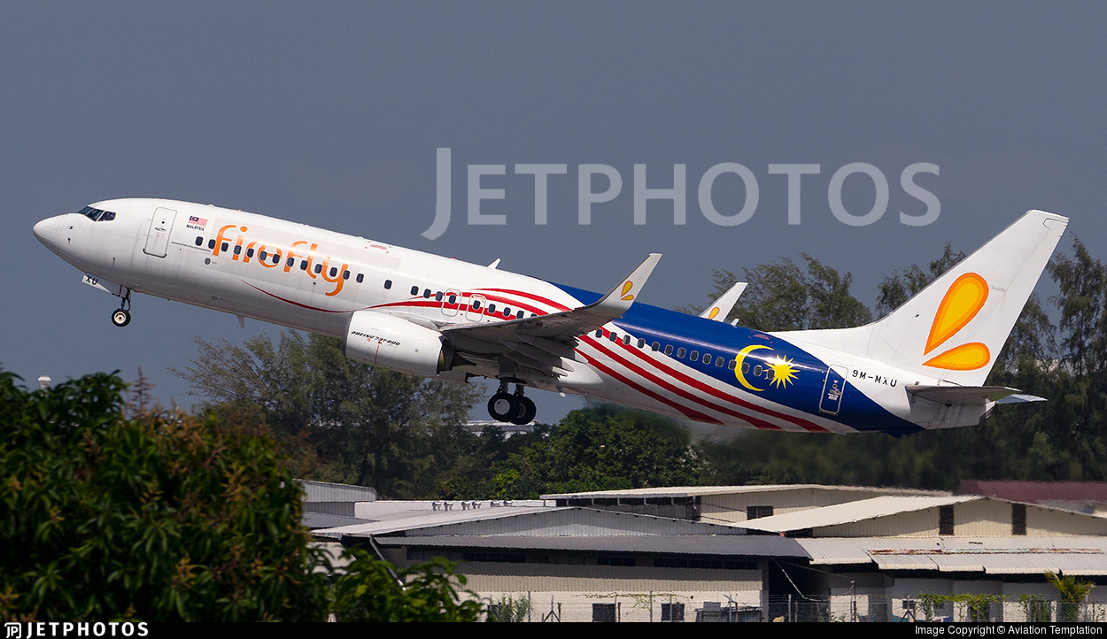 9M-MXU - Boeing 737-8H6 - Firefly
