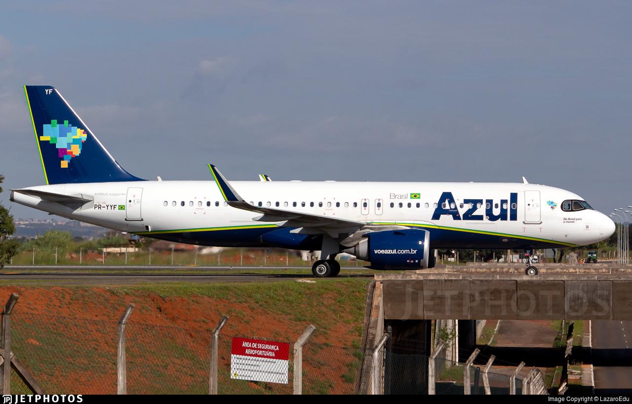 PR-YYF - Airbus A320-251N - Azul Linhas Aéreas Brasileiras