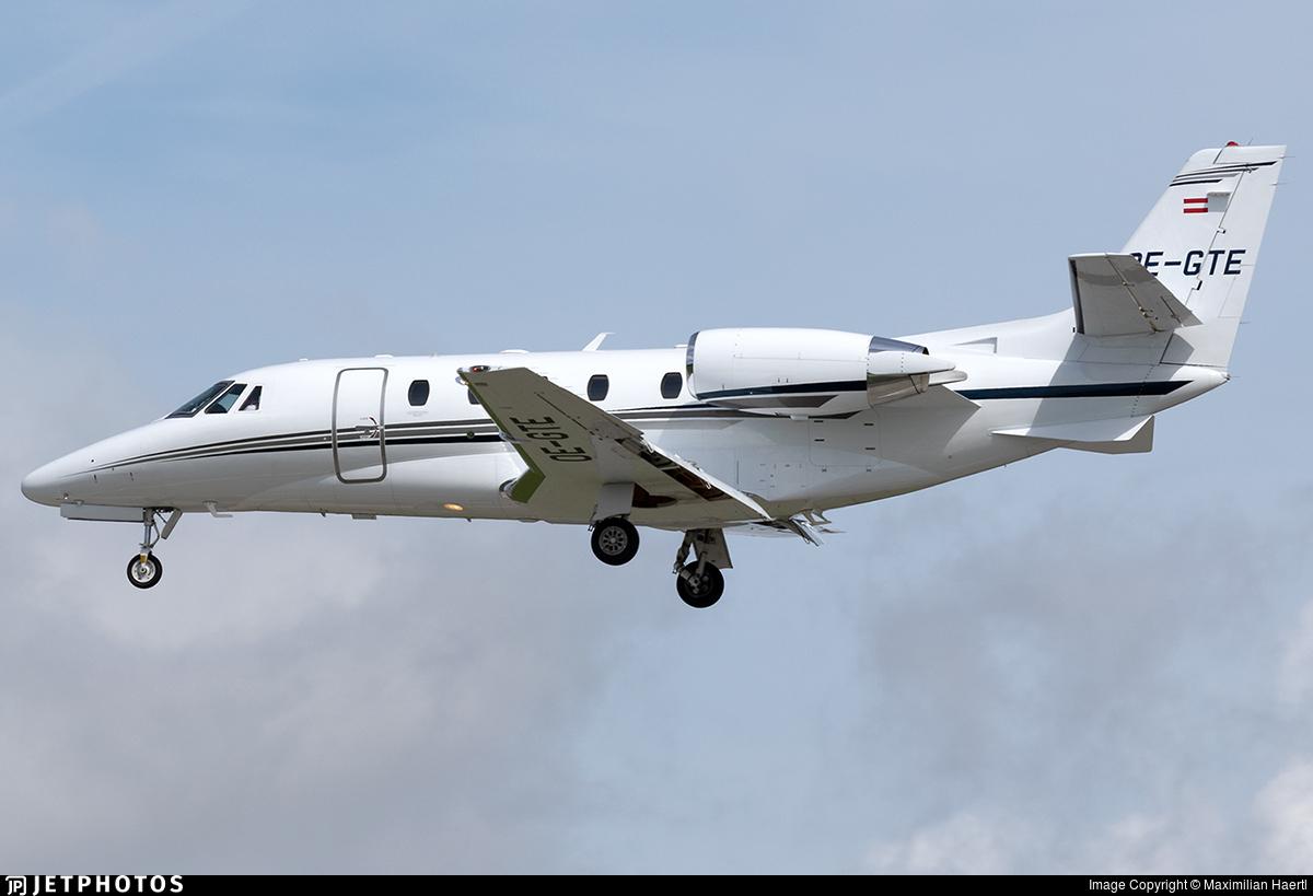 OE-GTE - Cessna 560XL Citation XLS Plus - Private