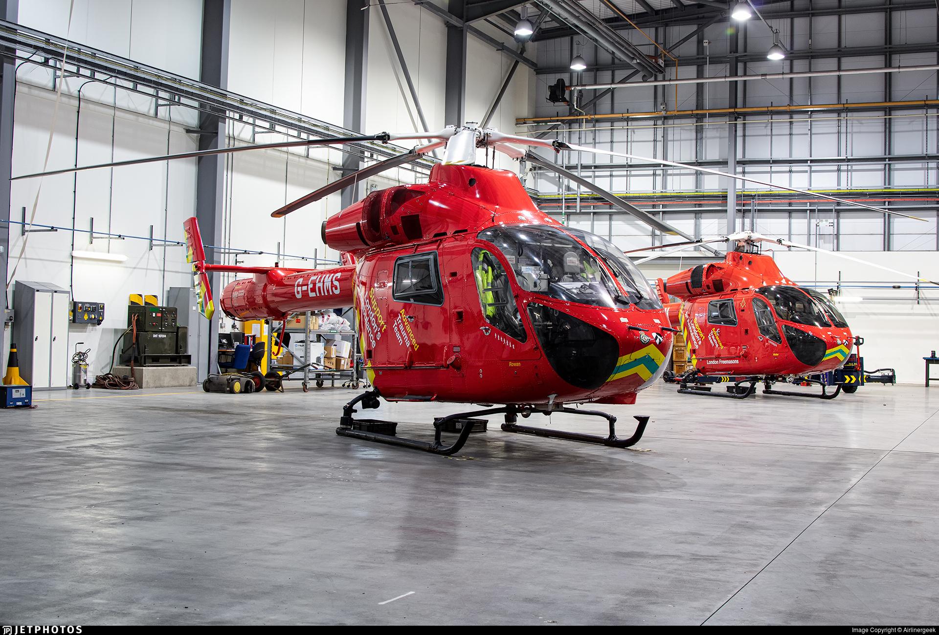 G-EHMS - McDonnell Douglas MD-900 Explorer - Londons Air Ambulance