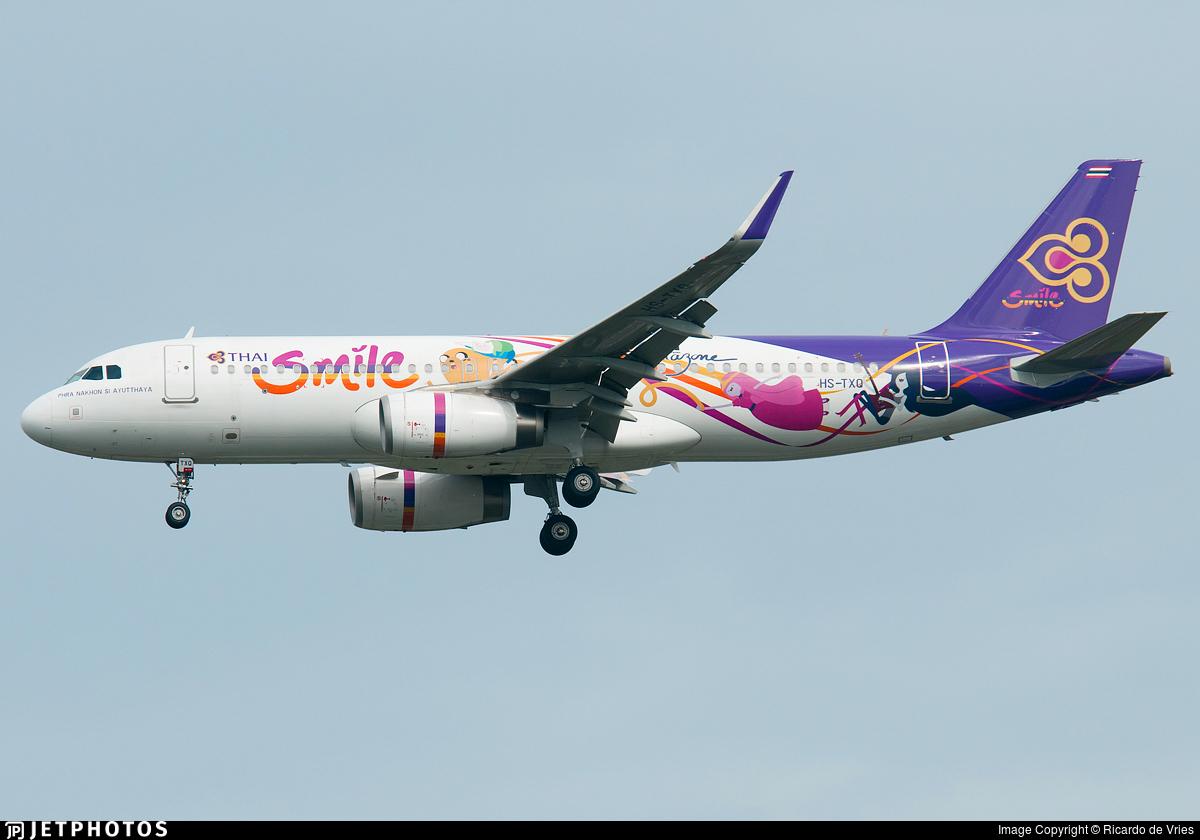 HS-TXQ - Airbus A320-232 - Thai Smile