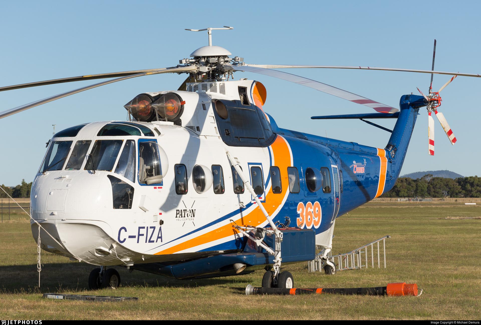 C-FIZA - Sikorsky S-61N - Hélicoptères Hélicarrier