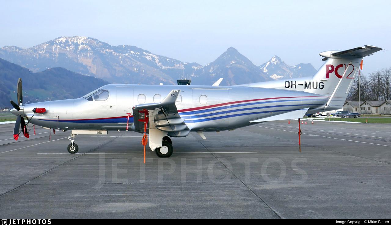 OH-MUG - Pilatus PC-12/45 - Private