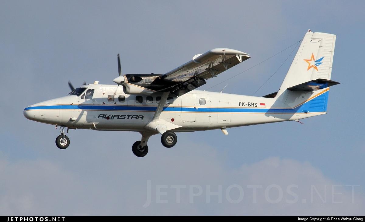 PK-BRS - De Havilland Canada DHC-6-300 Twin Otter - Aviastar