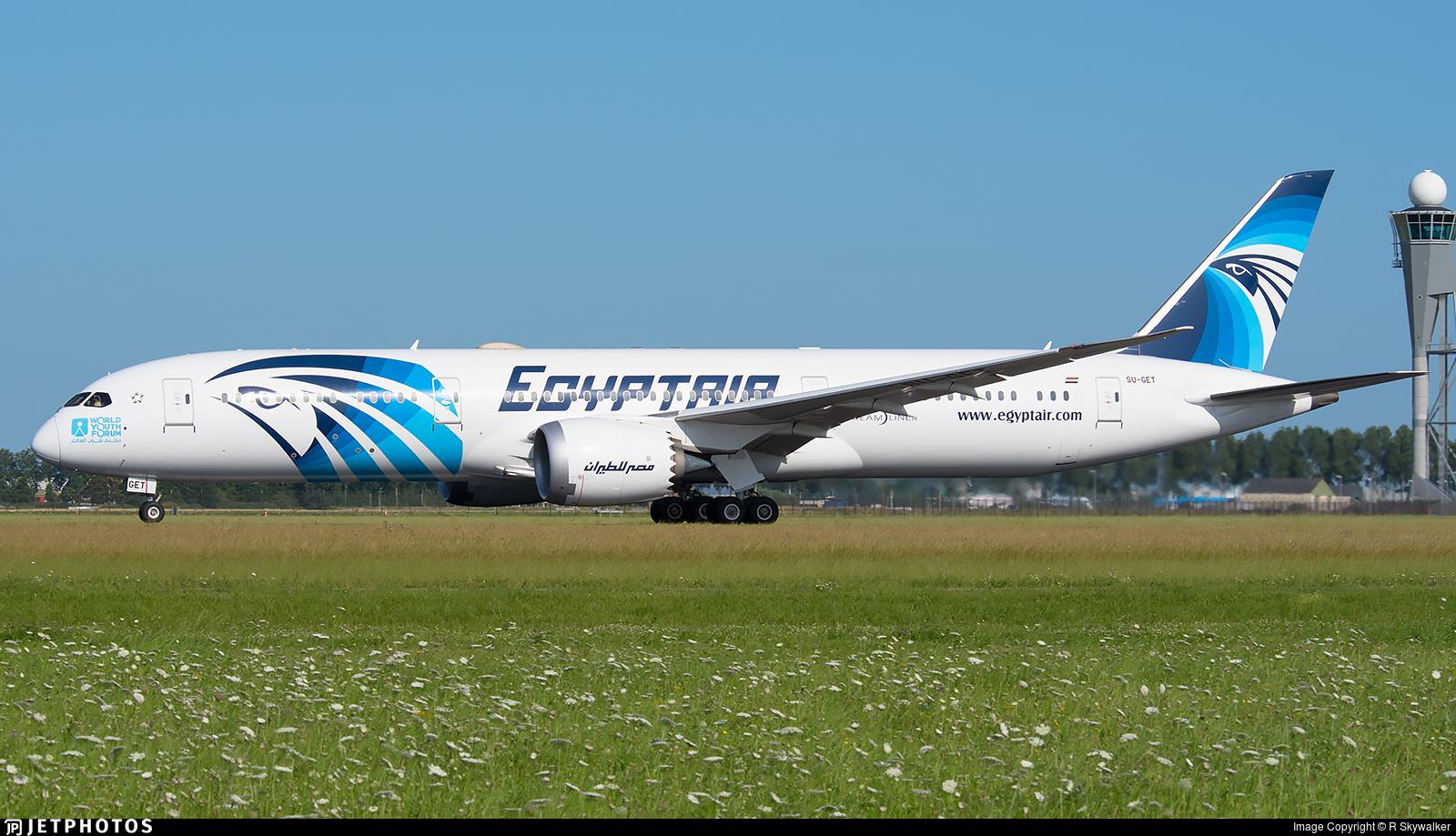 SU-GET - Boeing 787-9 Dreamliner - EgyptAir