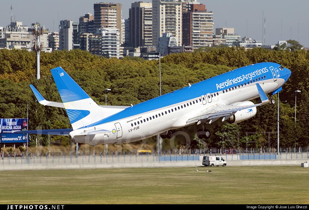 LV-FUB - Boeing 737-8HX - Aerolíneas Argentinas