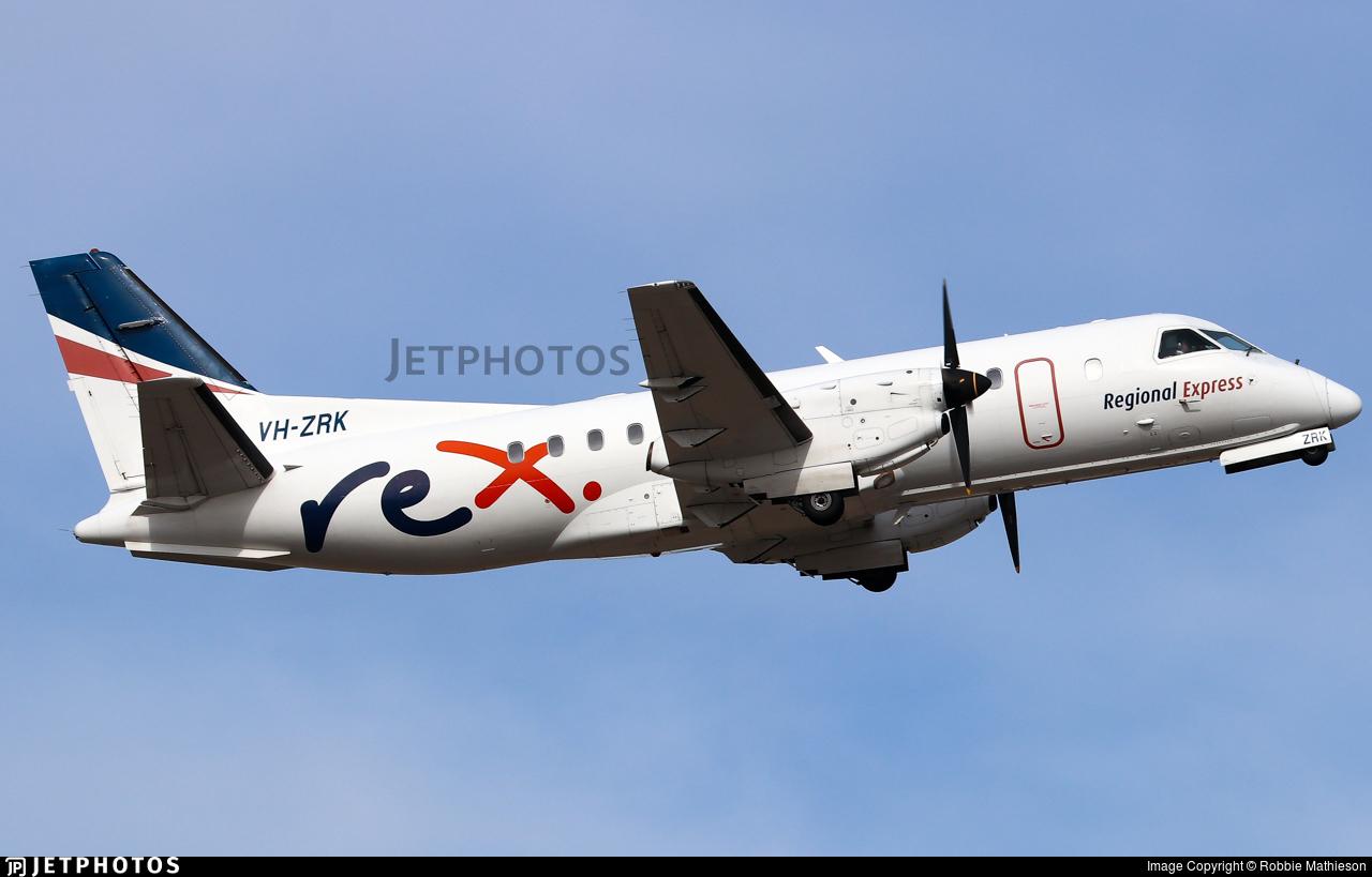 VH-ZRK - Saab 340B - Regional Express (REX)