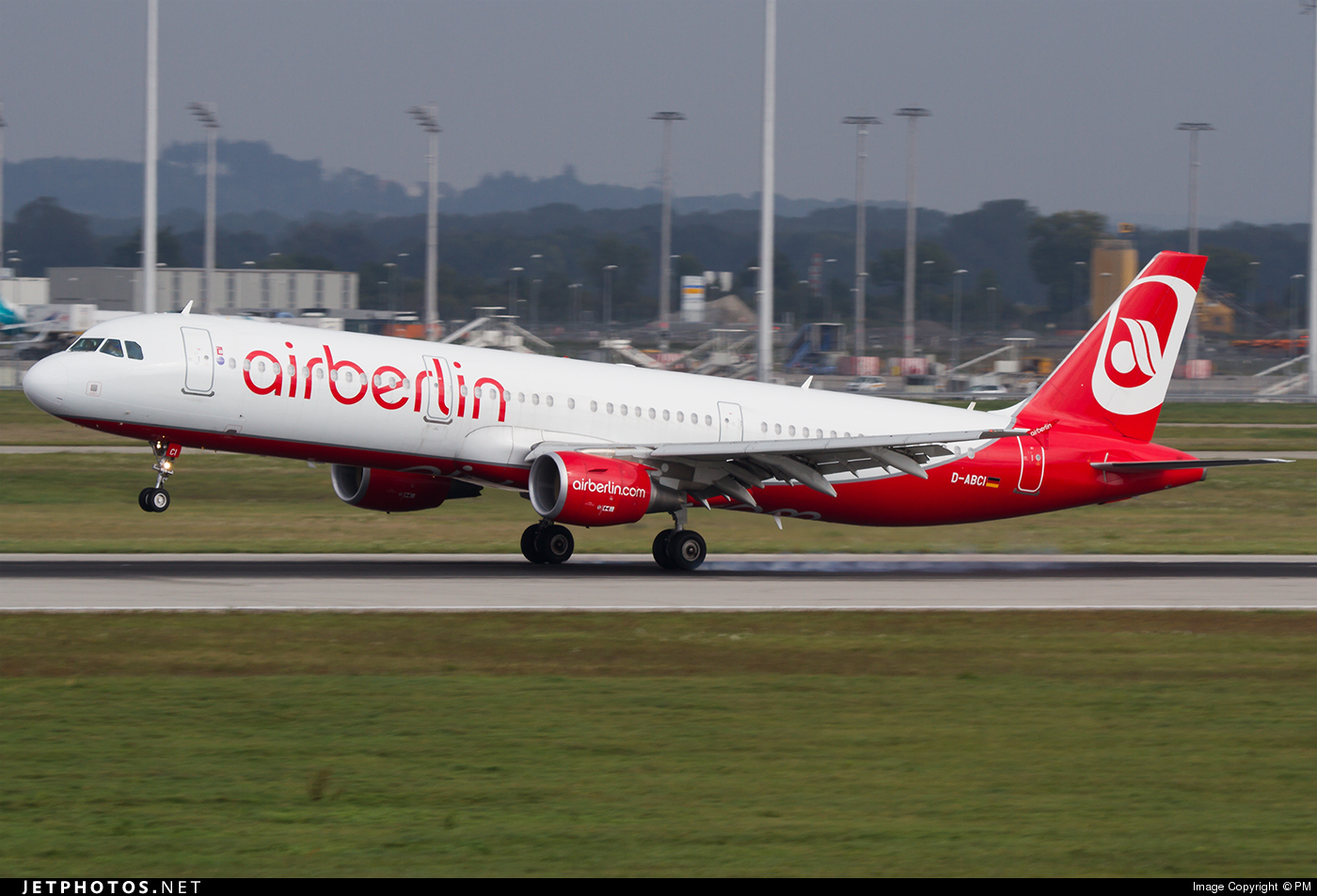 D-ABCI - Airbus A321-211 - Air Berlin