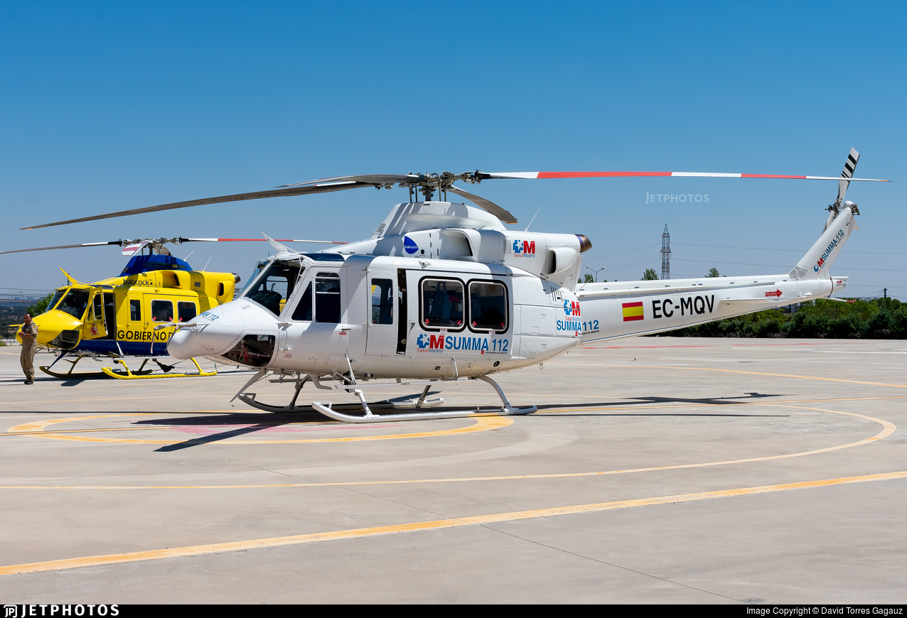 EC-MQV - Bell 412EP - Babcock MCS Spain