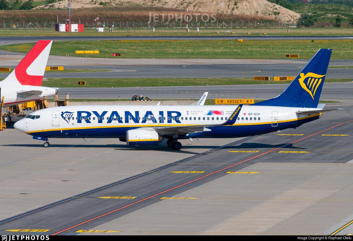 9H-QCP - Boeing 737-8AS - Ryanair (Malta Air)