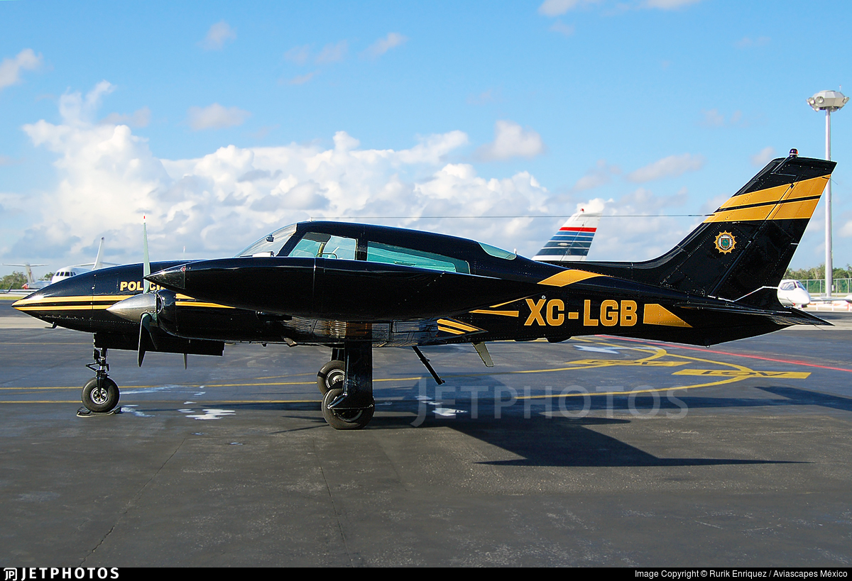 XC-LGB - Cessna 310R - Mexico - Yucatan State Government