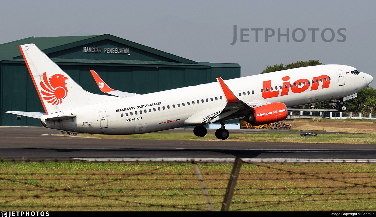 PK-LKR - Boeing 737-8GP - Lion Air