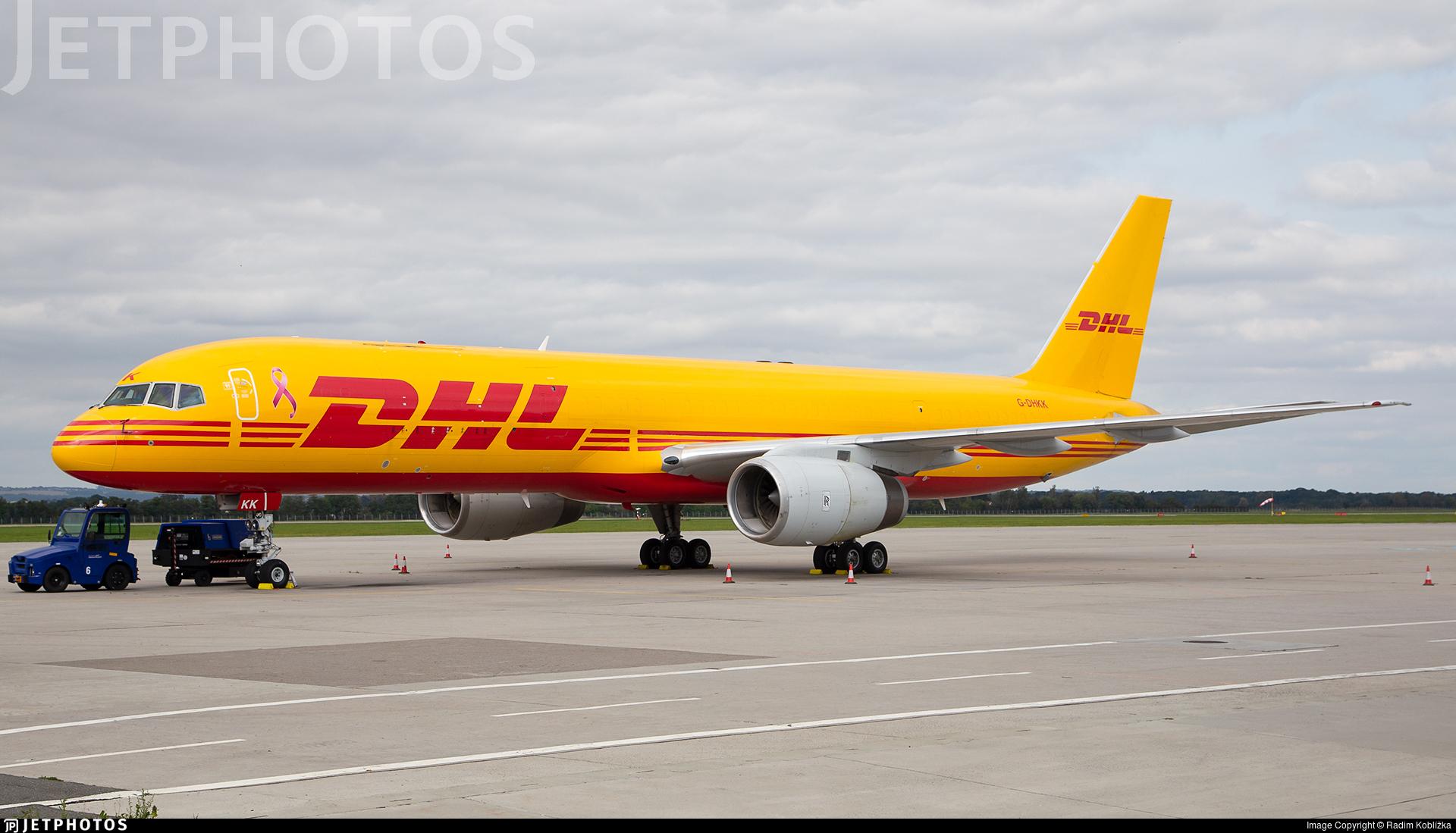G-DHKK - Boeing 757-28A(PCF) - DHL Air