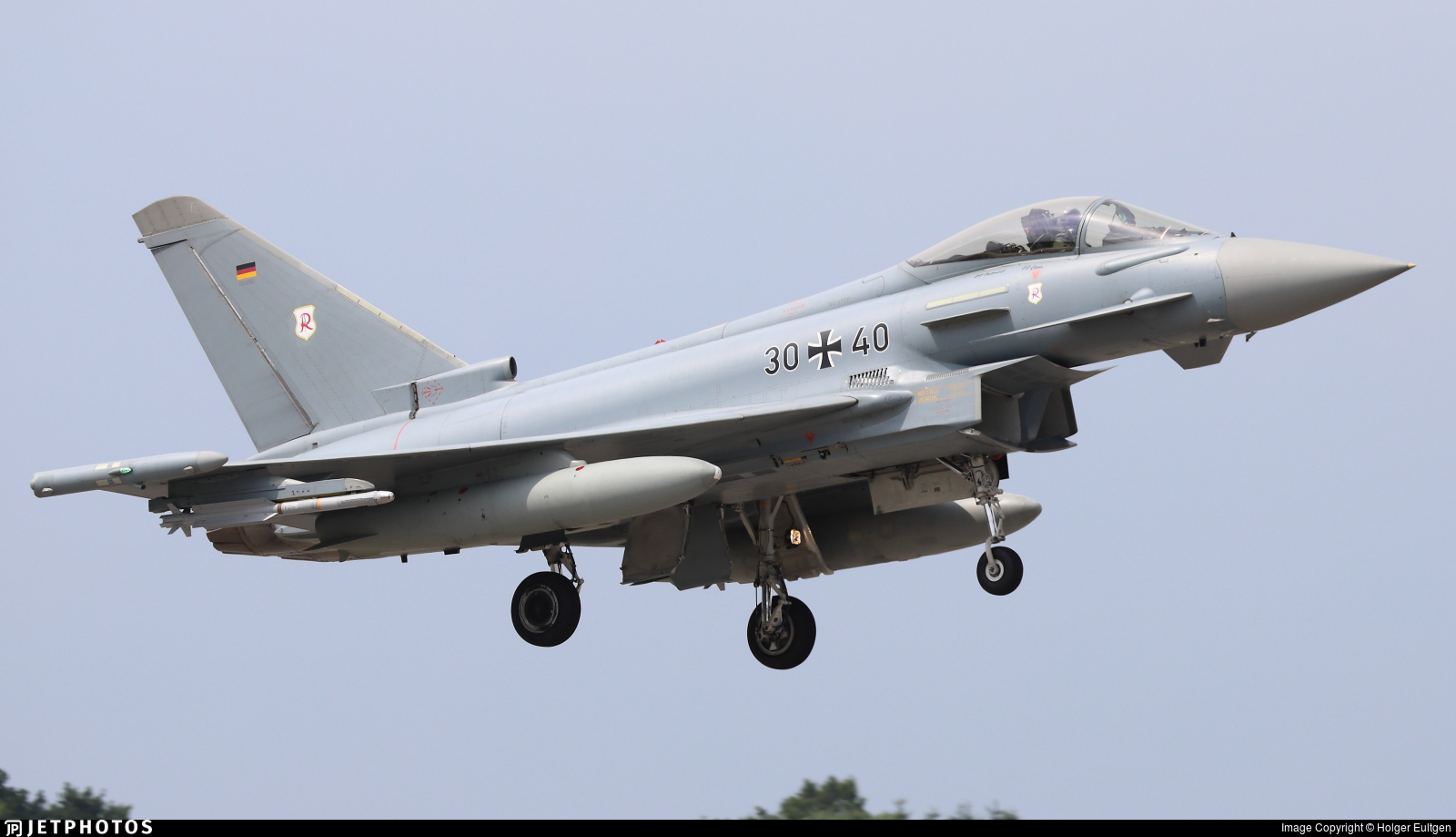 30-40 - Eurofighter Typhoon EF2000 - Germany - Air Force