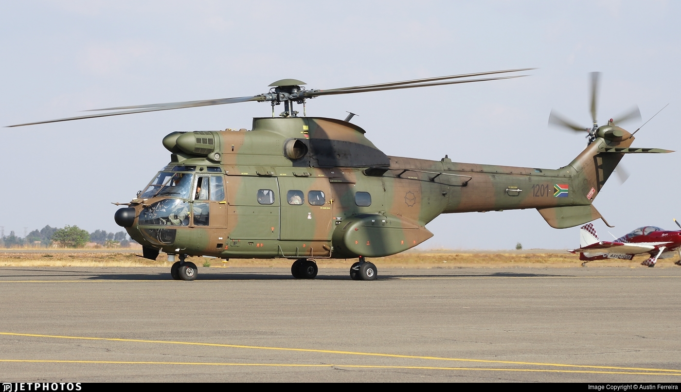 1201 - Atlas TP-1 Oryx - South Africa - Air Force