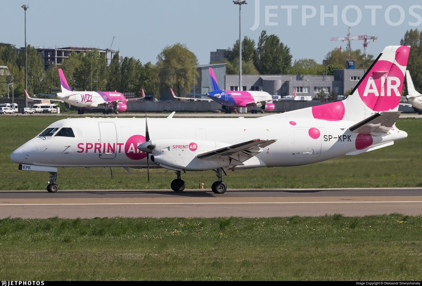 SP-KPK - Saab 340A(F) - SprintAir