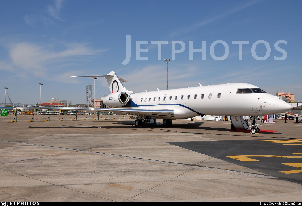 N588ZJ - Bombardier BD-700-1A11 Global 5000 - OJets
