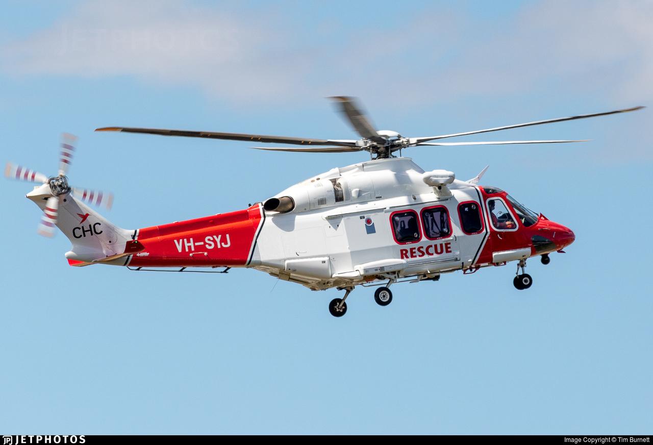 VH-SYJ - Agusta-Westland AW-139 - CHC Helicopters Australia