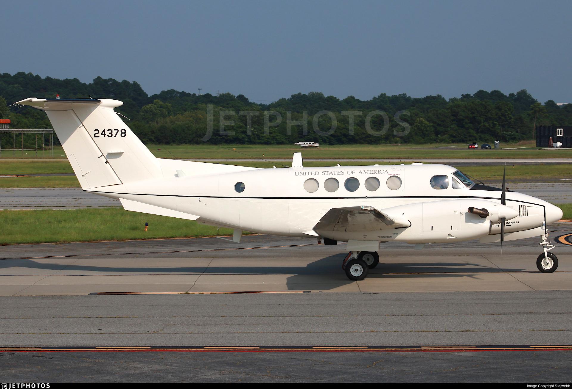 84-24378 - Beechcraft C-12U-2 Huron - United States - US Army