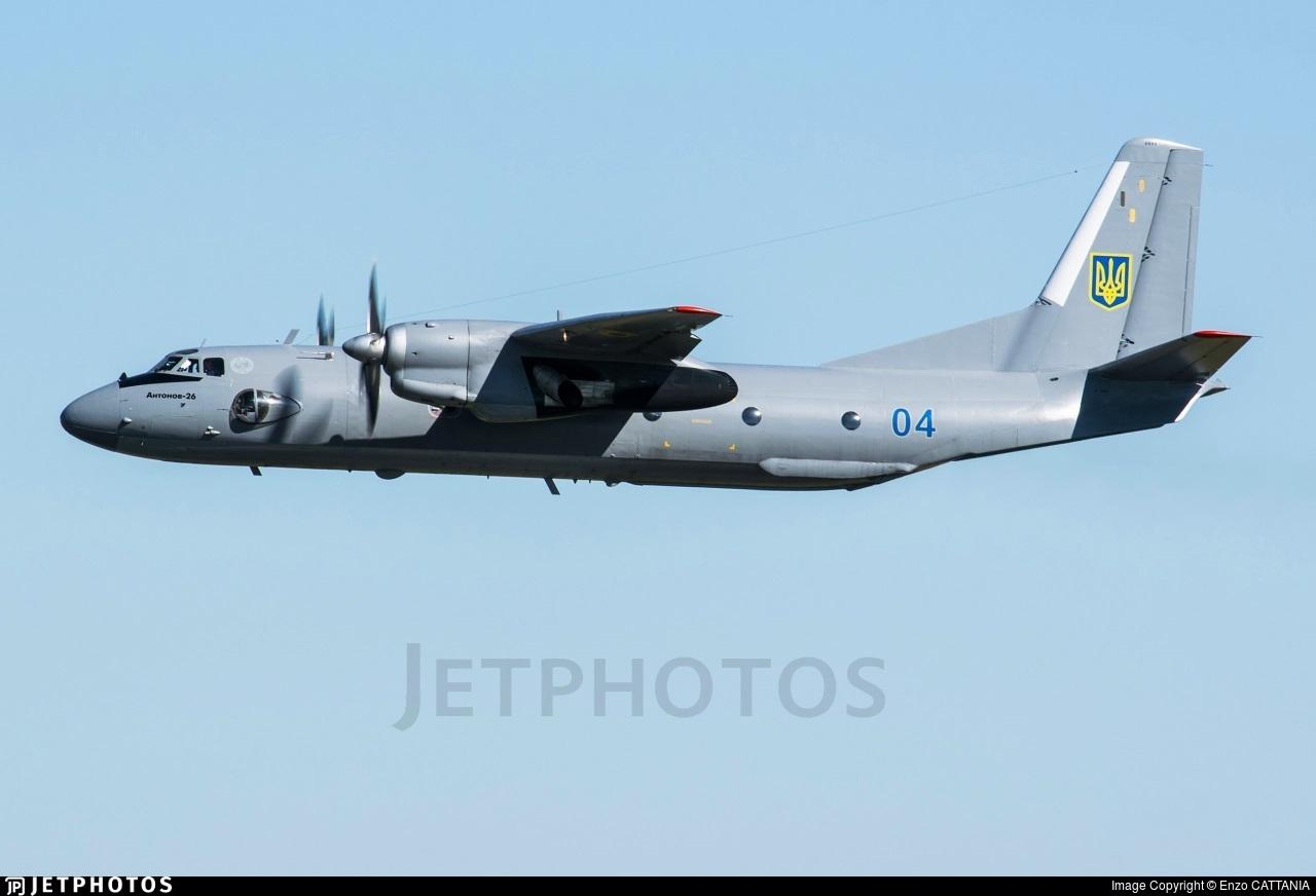 04 - Antonov An-26 - Ukraine - Air Force