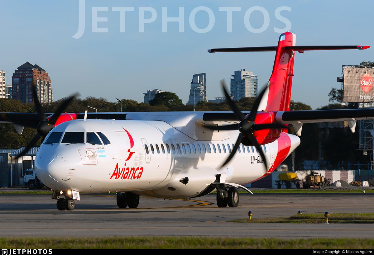 LV-GUG - ATR 72-212A(600) - Avianca Argentina