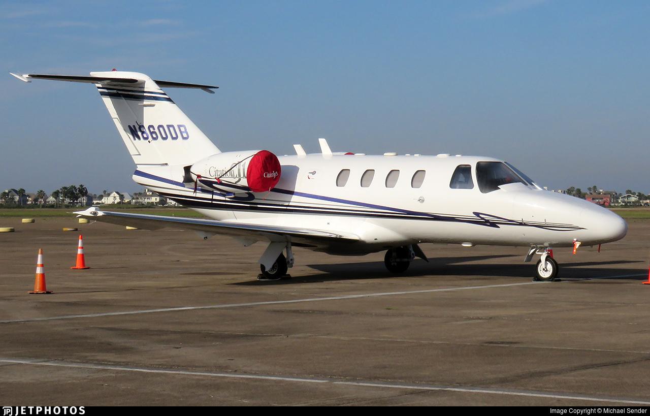 N860DB - Cessna 525 Citationjet CJ1 - Private