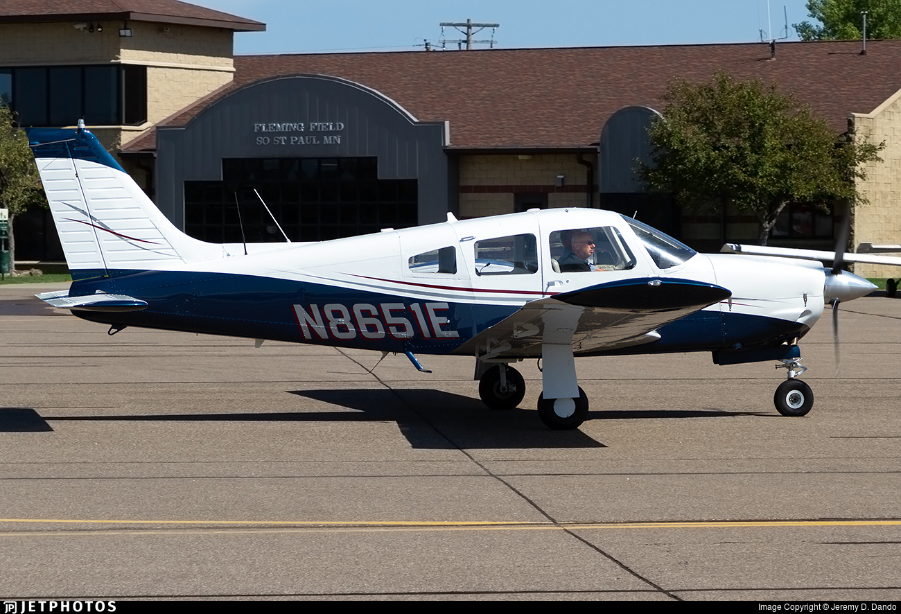 N8651E - Piper PA-28R-200 Cherokee Arrow II - Private