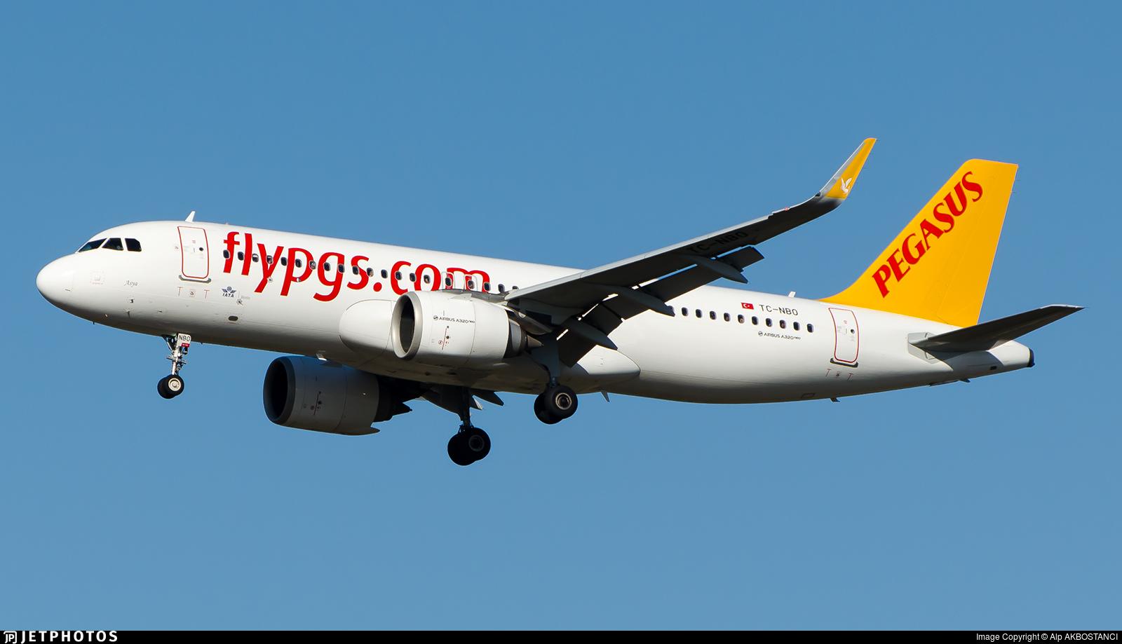 TC-NBO - Airbus A320-251N - Pegasus Airlines
