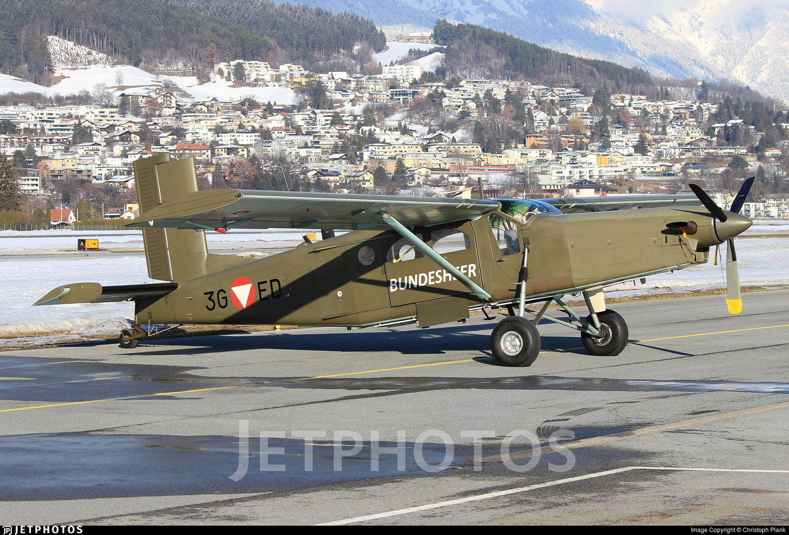 3G-ED - Pilatus PC-6/B2-H2 Turbo Porter - Austria - Air Force